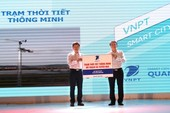 VNPT tặng tỉnh Quảng Bình 2 trạm thời tiết thông minh