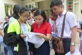 163 trường đại học, học viện phải xét tuyển bổ sung đợt 1
