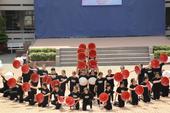 Màn nhảy flashmob cực chất của HS Trường Phú Nhuận