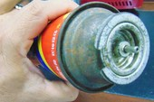 Bình gas mini làm bằng inox rất nguy hiểm