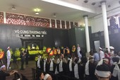 Lễ tang cụ Hoàng Thị Minh Hồ  theo nghi thức cấp cao