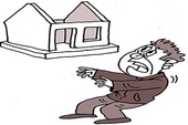 """Trộm """"giải tỏa"""" cả căn nhà!"""