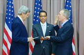 Tân đại sứ Mỹ tại Việt Nam tuyên thệ nhậm chức