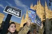Thế giới rầm rộ xuống đường chống khủng bố