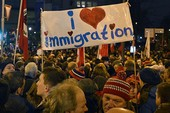Đức lo ngại phong trào bài Hồi giáo