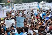 Dân Guatemala đòi tổng thống từ chức