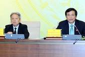 Biển Đông: 'Quốc hội sẽ phản ứng khi cần thiết'