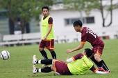 Đội U-23 Việt Nam chuẩn bị VCK châu Á: Ám ảnh chấn thương