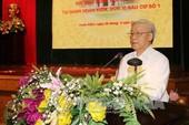 Tổng Bí thư Nguyễn Phú Trọng: 'Dân lo lắng bộ máy bị suy thoái, biến chất'