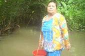 Cần Thơ: Sớm cung cấp nước sạch cho dân rạch Bà Máng