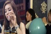 Yêu cầu hoa hậu Kỳ Duyên giải trình việc hít bóng cười