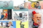 9 dấu ấn năm 2016 qua biếm họa quốc tế