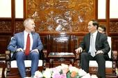 Chủ tịch nước Trần Đại Quang tiếp Đại sứ Ted Osius