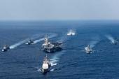Sốc: Hạm đội phủ đầu của Mỹ cách Triều Tiên ngàn cây số