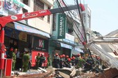 Nhà 3 tầng đổ sập, 3 người thương vong