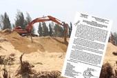 Phú Yên nhận thiếu sót vụ phá rừng làm sân golf
