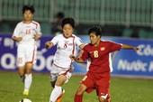 U-19 nữ Việt Nam bị bít cửa ở vòng chung kết châu Á