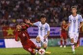 U-20 VN - U-20 Argentina (1-4): Khách đá như đi dạo!