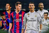 Barcelona và Real Madrid đua nước rút