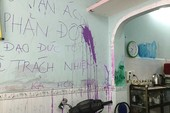 Vẽ bậy lên tường nhà mẹ chồng, coi chừng dính phạt