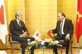 Thủ tướng Nguyễn Xuân Phúc gặp các nhà đầu tư Nhật Bản