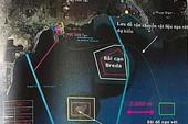 Vị trí đổ bùn cách vành đai bảo vệ Hòn Cau hơn 1 hải lý