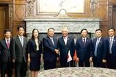 Phó Chủ tịch Quốc hội hội kiến lãnh đạo nghị viện Nhật