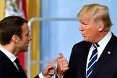 Ông Trump đến Pháp giữa bộn bề lo âu