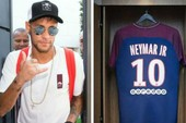 Paris 'náo loạn' đón Neymar