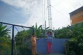 Dân lo lắng cột phát sóng trong khu dân cư