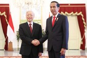 Việt Nam-Indonesia ký nhiều văn kiện hợp tác quan trọng
