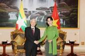 VN-Myanmar nâng tầm quan hệ đối tác hợp tác toàn diện