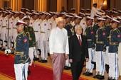 Tổng Bí thư Nguyễn Phú Trọng thăm cấp nhà nước Myanmar