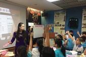 Việt kiều nhí học tiếng Việt ở Đài Loan