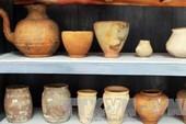 Lần đầu tiên triển lãm gốm Óc Eo Nam bộ