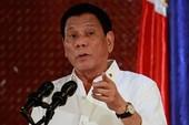 Ông Duterte tiến đánh 'cá lớn' trong cuộc chiến ma túy