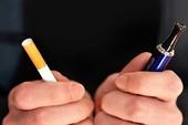 Thuốc lá điện tử hại không thua gì thuốc lá thường