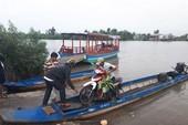 Dân Cà Mau liều qua sông vì tỉnh xóa bến phà