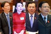 4 bộ trưởng 'giải nhiệt' nhiều vấn đề nóng