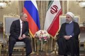 Iran-Nga bắt tay đối trọng Mỹ ở Trung Đông