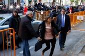 Cựu lãnh đạo Nghị viện Catalonia hầu tòa