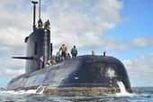 Tàu ngầm Argentina 7 lần gửi điện cầu cứu