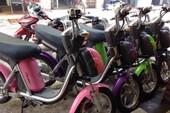 Đề xuất cho thuê 1.000 xe máy điện tại quận 1