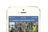 Người dùng Facebook đóng góp hơn 200 tỉ đồng cho nạn nhân động đất Nepal