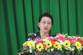 Chủ tịch Quốc hội trả lời cử tri về bài học Đồng Tâm