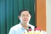 Phó Thủ tướng Vương Đình Huệ: Xóa bỏ tín dụng đen ở nông thôn