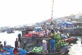 Chợ nổi Cái Răng gây ấn tượng mạnh cho người Nhật
