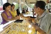 Giá vàng bất ngờ tăng trở lại phiên đầu tuần