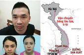 Toàn cảnh đường dây sản xuất ma túy lớn nhất Việt Nam