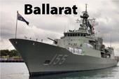 Sức mạnh tàu hộ vệ tên lửa Úc đang thăm Đà Nẵng